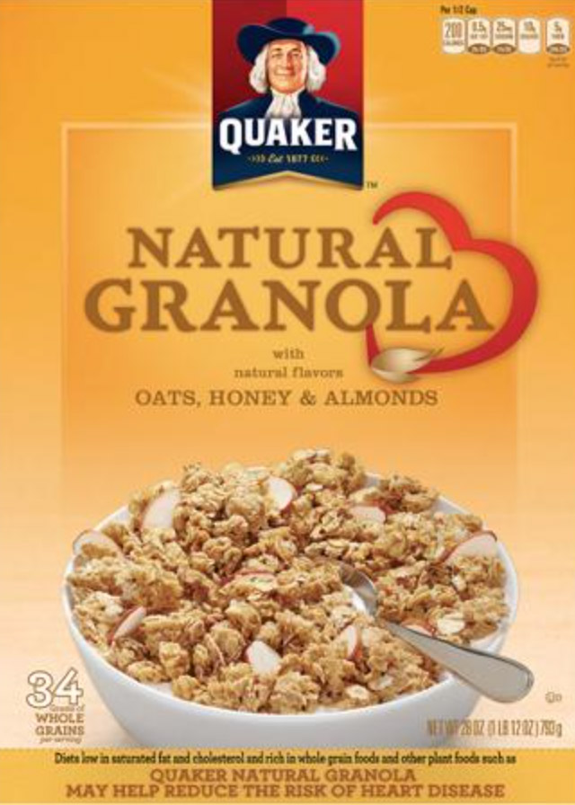QuakerGranola Package